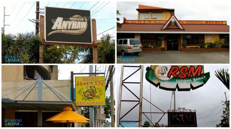 Restaurants in Calamba Laguna Philippines