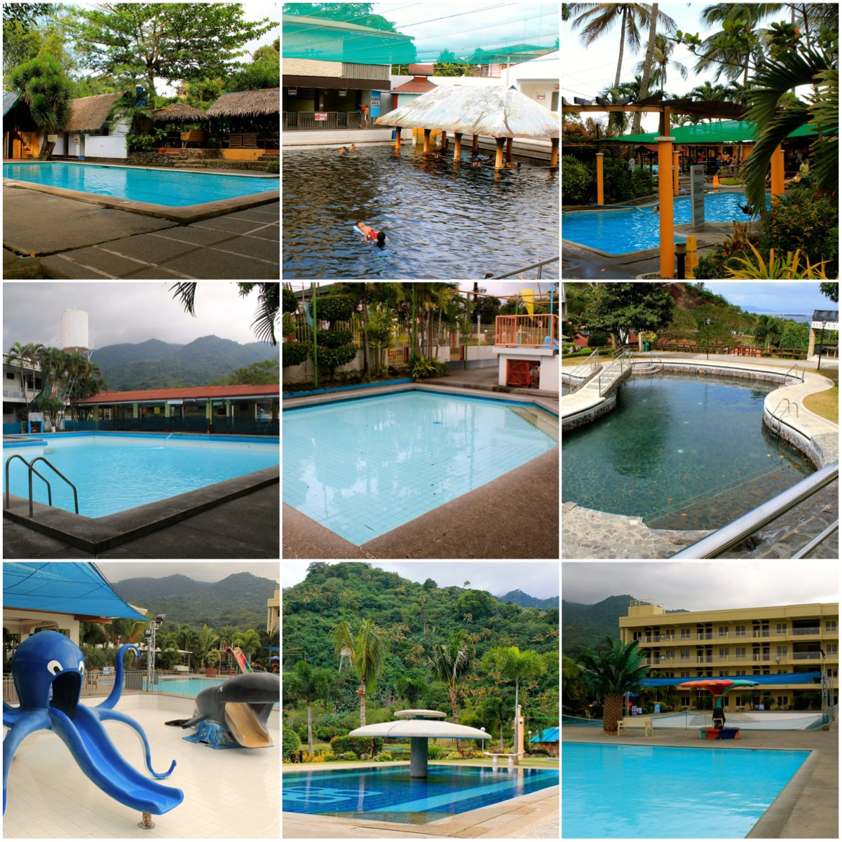 Hot spring resort pools laguna philippines