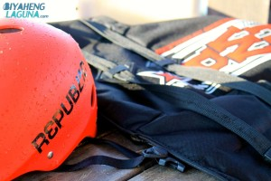 Helmet and Vest at Republic Wakepark Nuvali Laguna