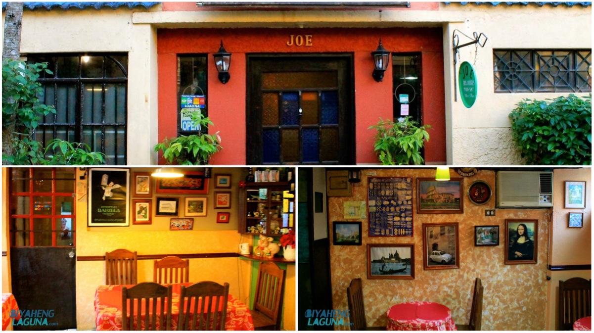 Joe's Italian Restaurant Los Banos Laguna