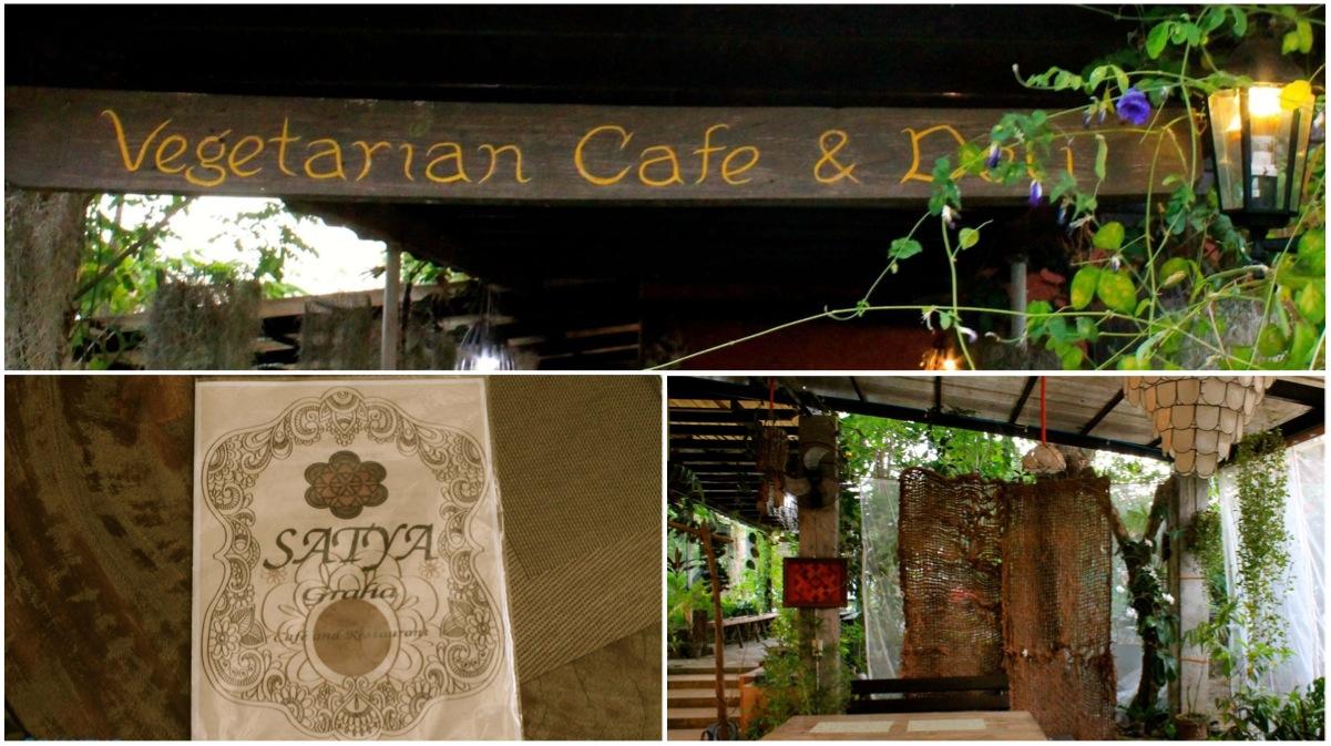 Satya Graha Vegetarian Cafe Los Banos Laguna