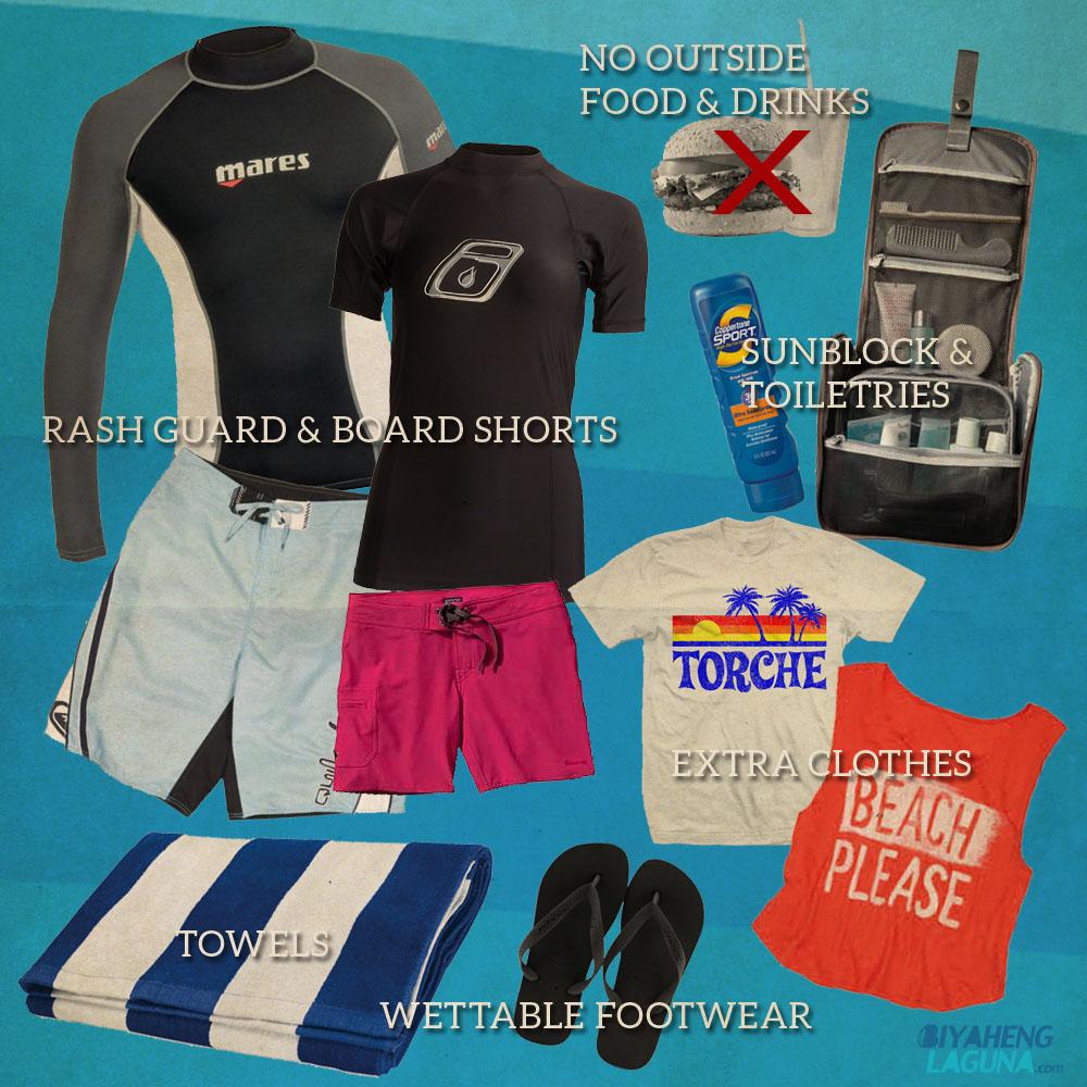 What to Bring at Republic Wakepark Nuvali Laguna