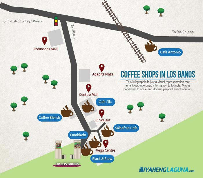 Los Banos Coffee Shops Map Biyaheng Laguna